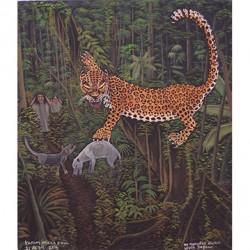 No molestes, quiero vivir, jaguar - Kayúm Ma'ax