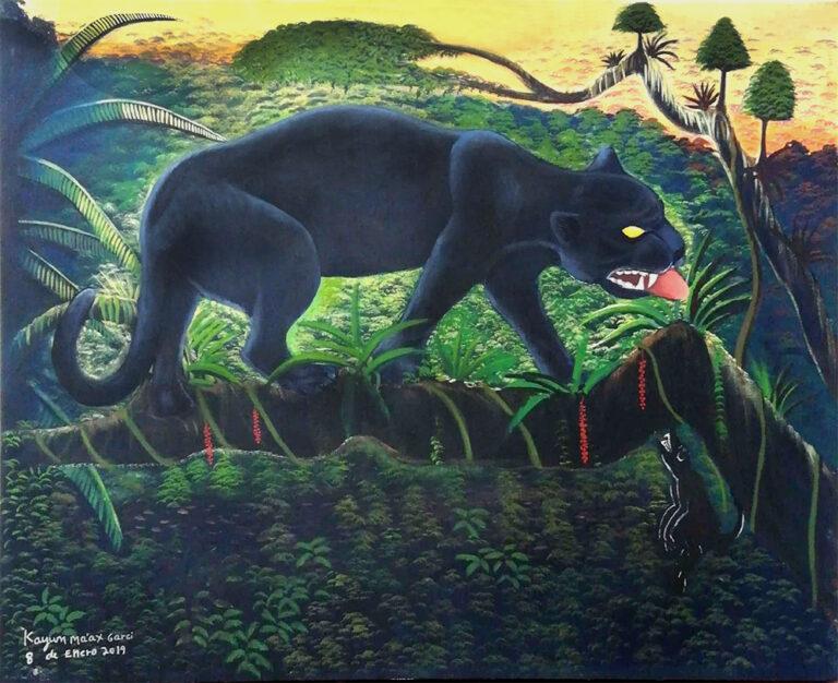 """""""El jaguar cambia de color"""""""