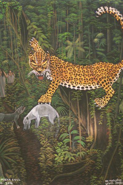 """""""No molestes, quiero vivir. Jaguar"""""""